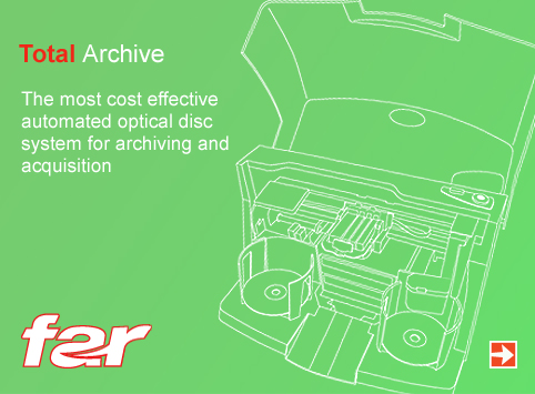 FAR–Total Archive. FAR is the premier solution for automating archival of digital evidence to Blu-ray media.