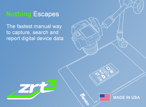 ZRT 2–Nothing Escapes. ZRT 2 is the leading system for manual acquisition of evidential data from cell phones.